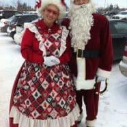 Edmonton Santa & Mrs. Claus