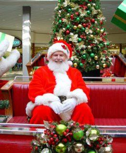 Haney Place Mall Santa