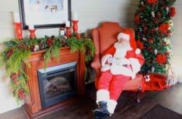 Santa Resting