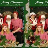 Santa & Family