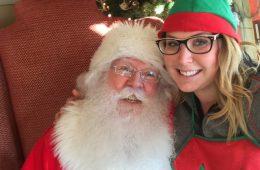 Grouse Mountain Santa with Elf