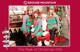 Grouse Mountain Elf Team