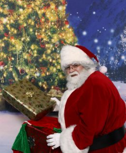 Edmonton Santa with Presents