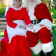 Gatineau Santa and Mrs Claus