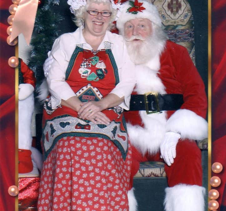 Santa Larry and Mrs Claus