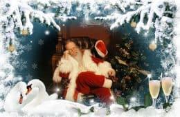 Rosebud Santa