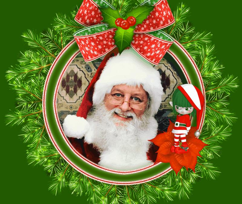 Santa Bob in Red