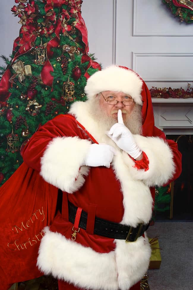 Calgary Santa