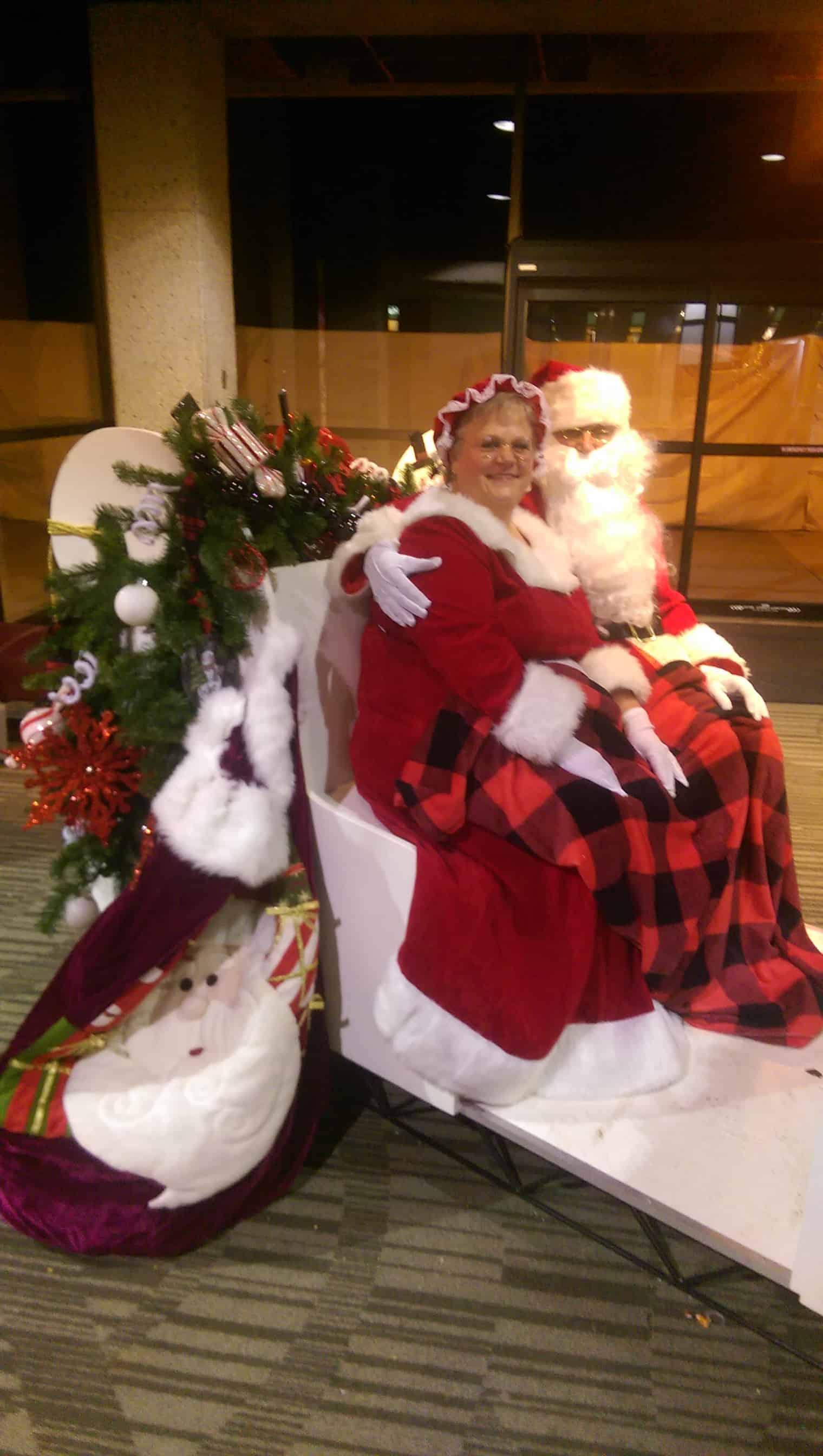 Santa and Mrs K Claus