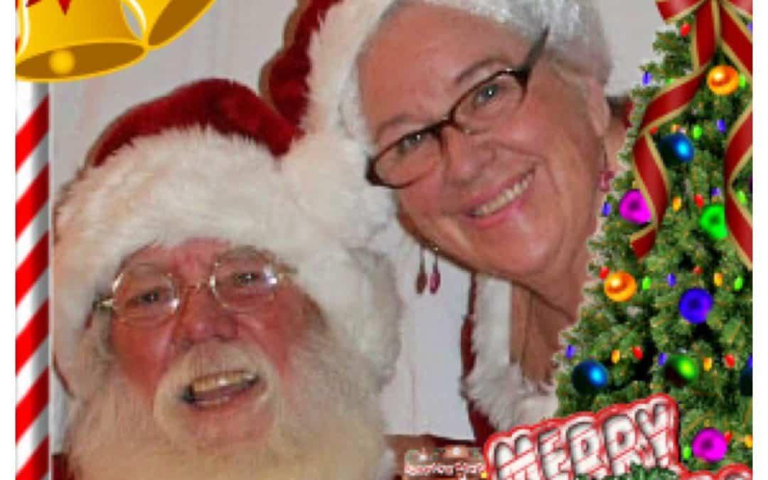 Santa & Mrs M Claus