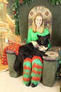Elf with Dog