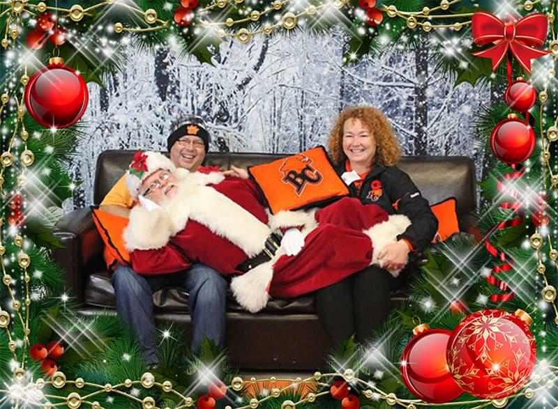 Reclining Santa Dave