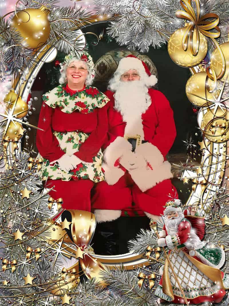 Mrs Claus & Santa Pat