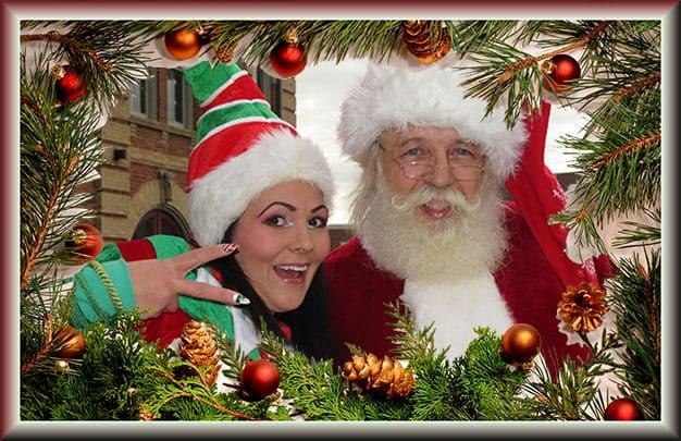 Santa Robert & Orangeville Elf