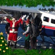 Santa and the Seaplane