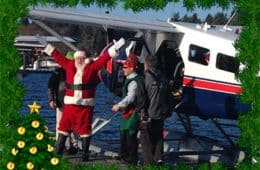 Santa and the Seaplane