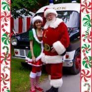 Santa Peter with Elf