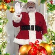 Santa Saying Hello