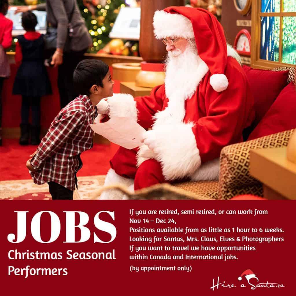 Hire A Santa Jobs